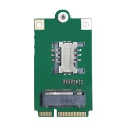 M.2 B Key to Mini PCI-E Adapter Converter Card with SIM Card Slot for Sierra Wireless , Quectel modem or SIM  by wodaplug.com