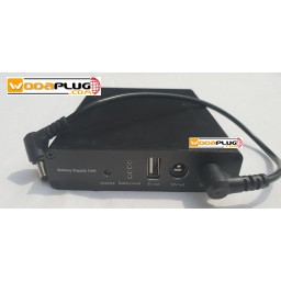 Wodaplug power backup unit for wi-fi, router, ADSL, LTE, mobile phones & powerbank - UPS 2 x 12v, 1 x 5V USB UPS 8800mAh