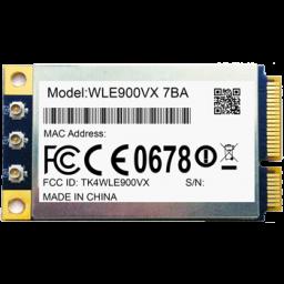 WLE900VX - i 7C 85°C Industrial-grade 3*3 802.11ac Dual band Radio miniPCIe module, compex