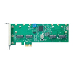 Wallys 2G41 Linux PCIe adapter for miniPCIe and M.2 WiFi modules, 4*miniPCIE slot to PCIe adapter
