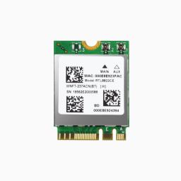 SPARKLAN WNFT-237ACN(BT) M.2 Module (WiFi 5), RTL8822CE, 2T2R 802.11ac Wave 2 Compliant with MU-MIMO, WiFi+Bluetooth 5.0,