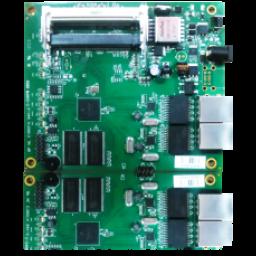 COMPEX WP546HV board, 2*miniPCI, AR7161 CPU, 64MB+8MB, 2*RJ45 Gigabit