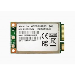 Sparklan WPEQ-256ACN Mini PCIe Module WiFi 5, Qualcomm QCA9882 BR4A 2T2R, 802.11ac/a/b/g/n