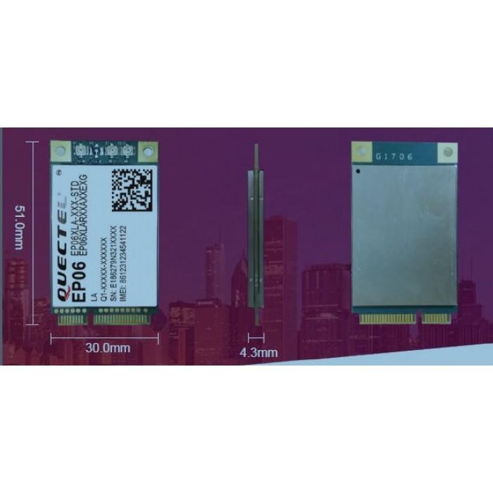 Quectel EP06 miniPCIe - optimized LTE Cat 6 Module version EP06-E