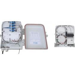 Wodaplug outdoor 16 port splitter FTTH PON BOX WDP02016B for mini PLC splitters