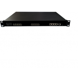 Wodaplug ® WDS1U4PGE 1U 4PON GEPON OLT, Chipset Cortina CS8032, WEB, CLI, SNMP management