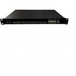 Wodaplug ® WDS1U8PGE 1U 8PON GEPON OLT, Chipset Cortina CS8032, WEB, CLI, SNMP management