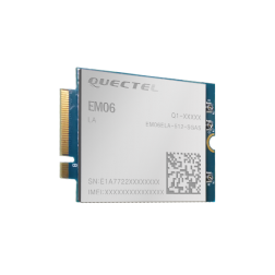 EM06-E EM06ELA-512-SGAD Quectel LTE-A M.2 - optimized 3GPP Rel. 11 LTE 2xCA Cat 6 Module , 5G+ ready, version Europe