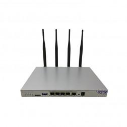 4G LTE router WG3526 MT7621 880MHZ 1200Mbps 5x1GB 1xUSB 3.0 1×SIM 1×SD 1× SATA 3.0 IEEE802.11AC/N/G/B/A SDK 4.2