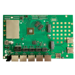 Wallys QCA DR 6018 v4 802.11AX MU-MIMO OFDMA DUAL CONCURENT BAND Multifunction EMBEDDED BOARD, Qualcomm - Atheros IPQ6018, WiFi 6
