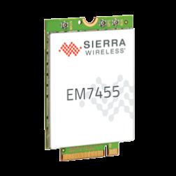 EM7455 AirPrime Sierra wireless Module M.2, LTE-A CAT 6, DC-HSPA+, HSPA+, HSDPA, HSUPA, WCDMA, GSM, GPRS, EDGE, CDMA, GNSS